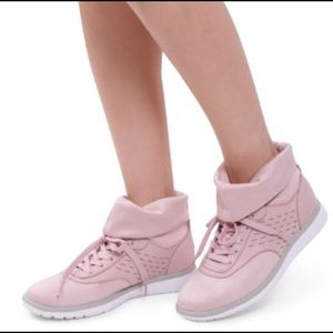 Ugg W Islay High Top Sneakers neutral Pink Sz 9.5
